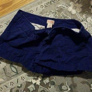 Mossimo Indigo Blue Shorts Size 5